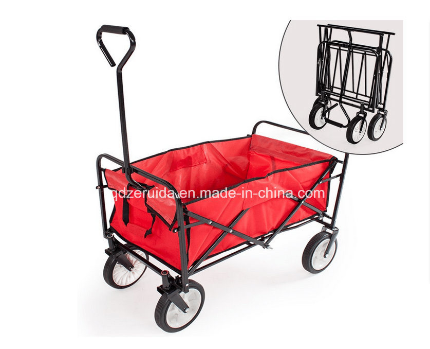 China The Mac Sports Folding Utility Wagon In Red Cart Hand