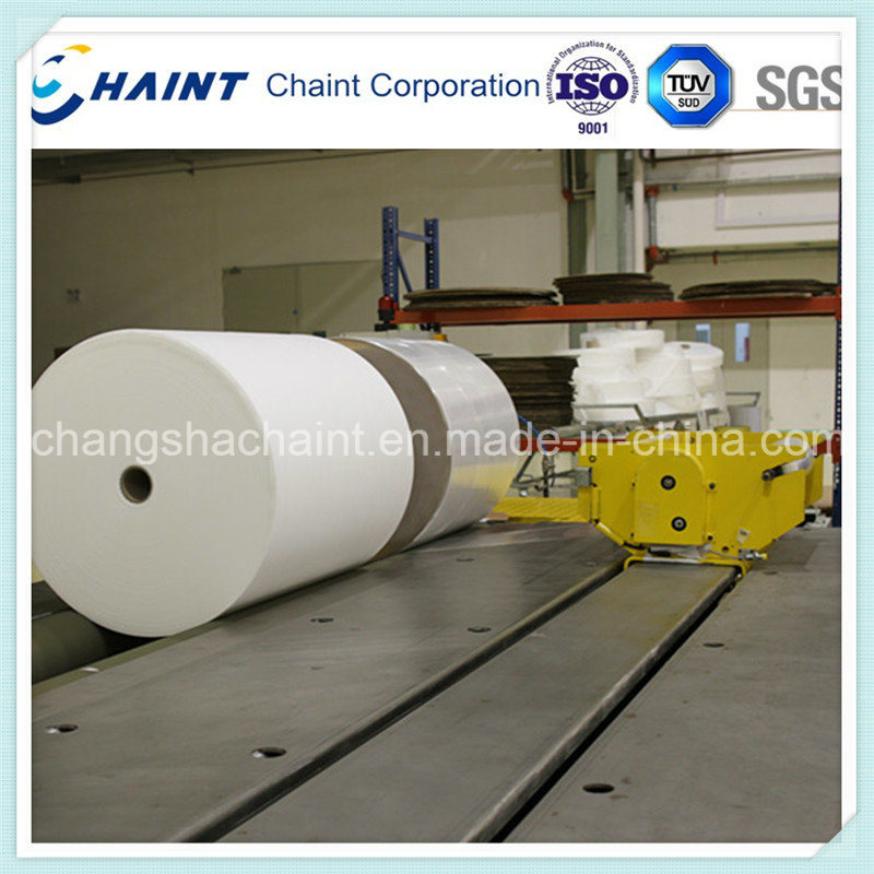 Textile Handling and Wrapping Machine for Non-Woven Fabric