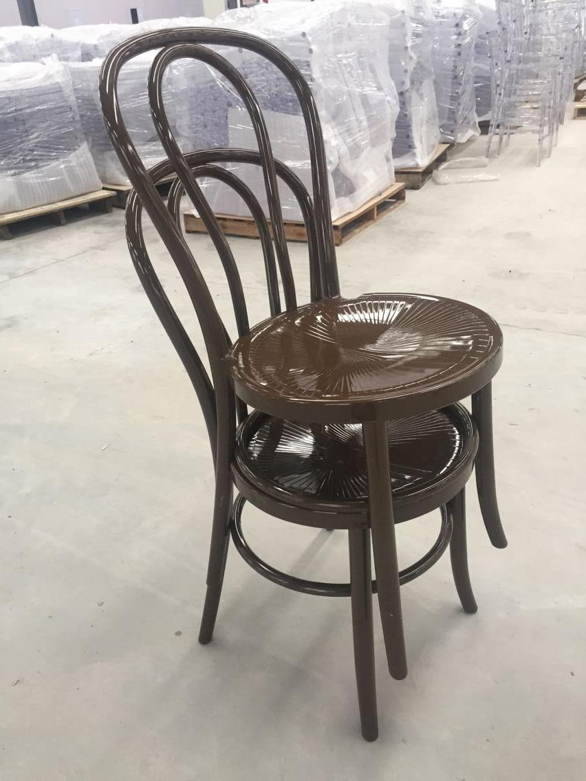Hot Item Stackable Polypropylene Material Rental Resin Thonet Chair
