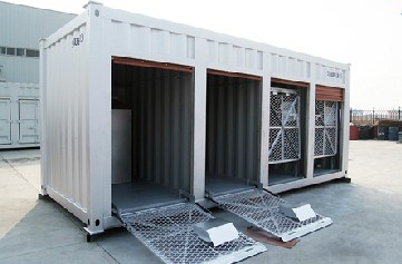China 20ft Motorcycle Self Storage Container China Self Storage