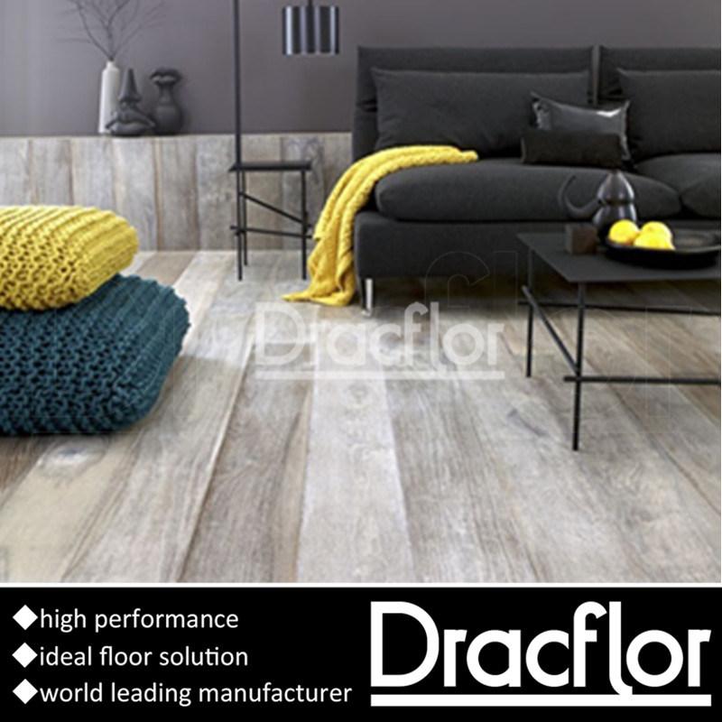 China Synthetic Floor Tiles Interlocking Vinyl Flooring P 7237