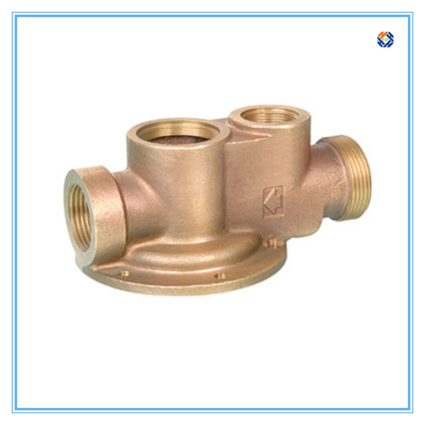 Bronze Casting Thermostatic Valve with Powder Coating