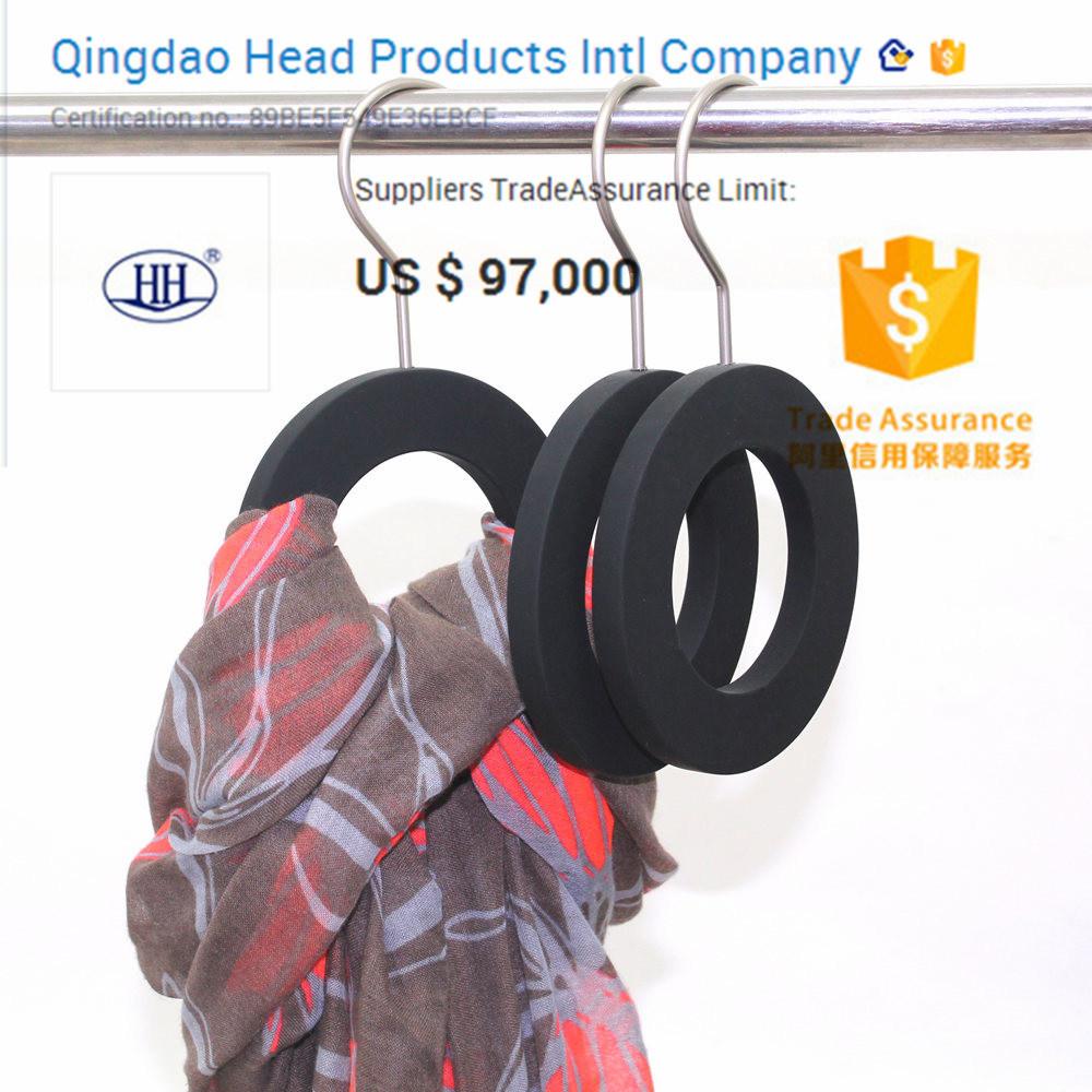 China Polished Metal Chrome Wire Scarf Tie Hanging Display - China ...