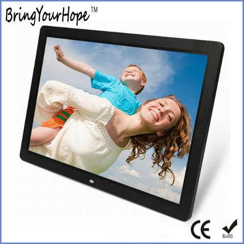 China 17 Inch Video Play Digital Photo Frame In Plastic Xh Dpf 170a