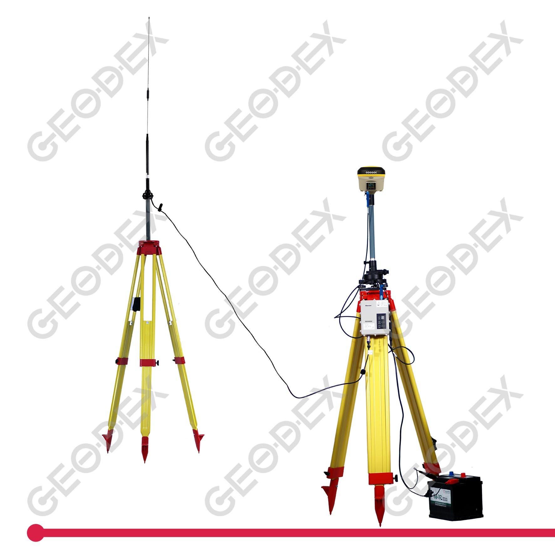 [Hot Item] Rtk GPS Base Station with External Radio for Topographic  Surveying