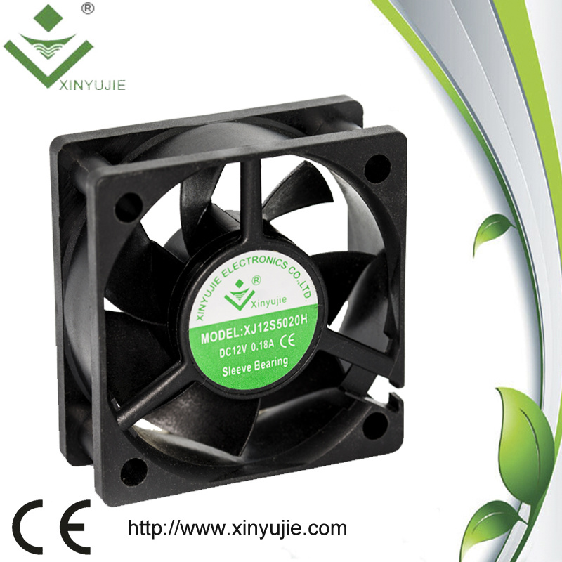 [Hot Item] 50mm Inverter Cooling Fan 5020 DC Cooling Fan Water Vapor Axial  Fan