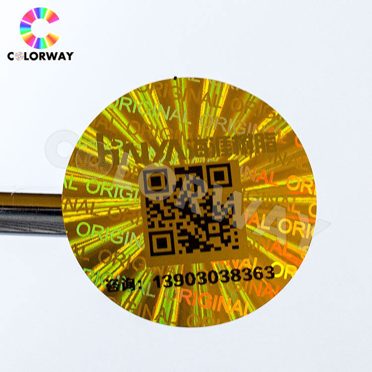Cheap Wholesale High Quality Hologram Security Custom Anti-Fake 3D Hologram Sticker pictures & photos