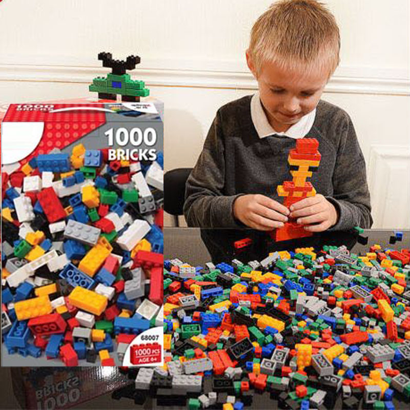 Blocks Kid′s ABS Plastic 1000 PCS Building Blocks Kids Toy (10198643) pictures & photos