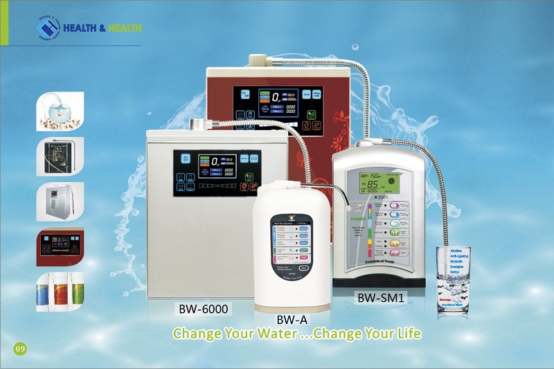 Hydrogen Alkaline Water Ionizer (CE Certified) (BW-SM1) pictures & photos