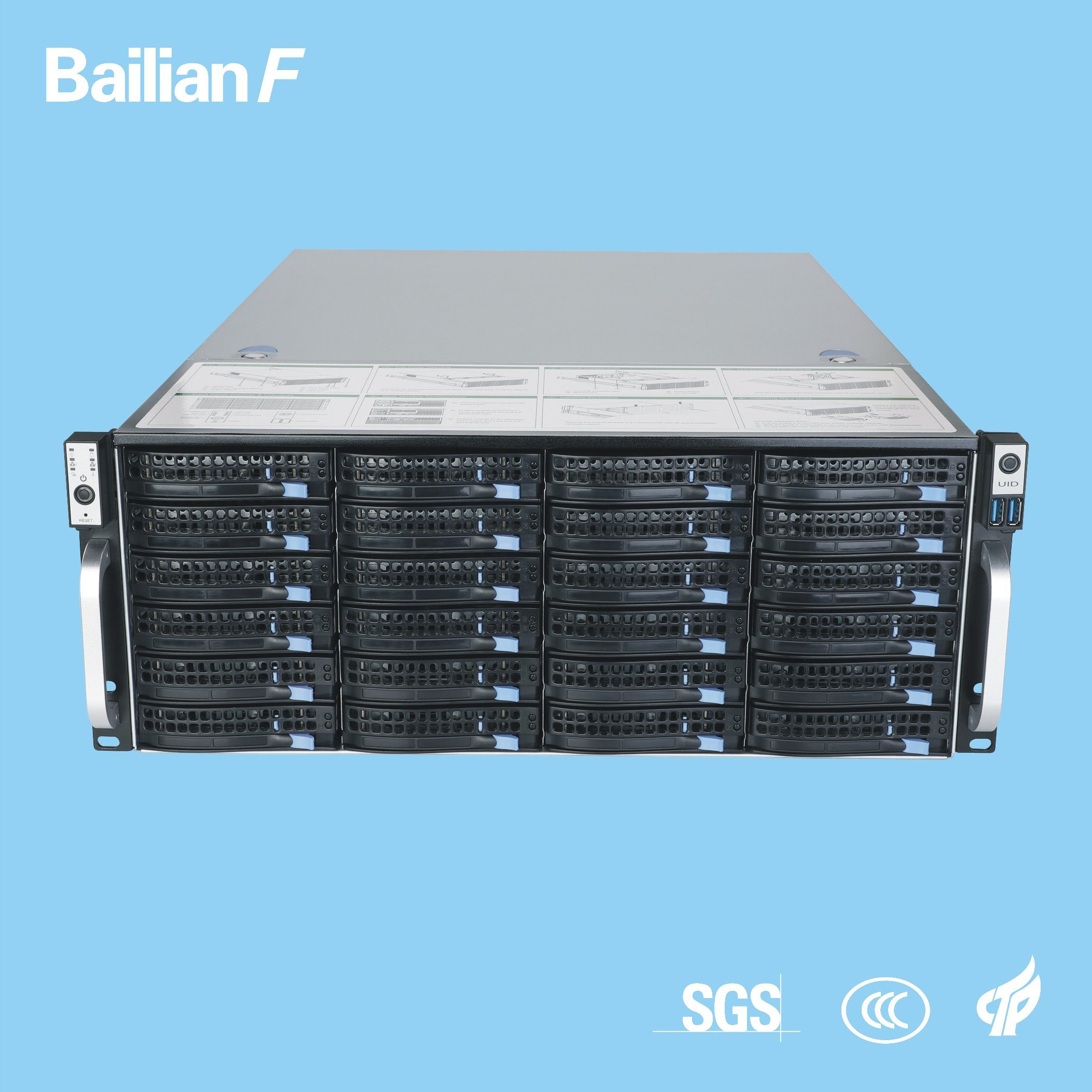 [Hot Item] Customized Server NVR Storage Server Camera Monitoring System  Server 4u-24bays Shenzhen Manufacturer
