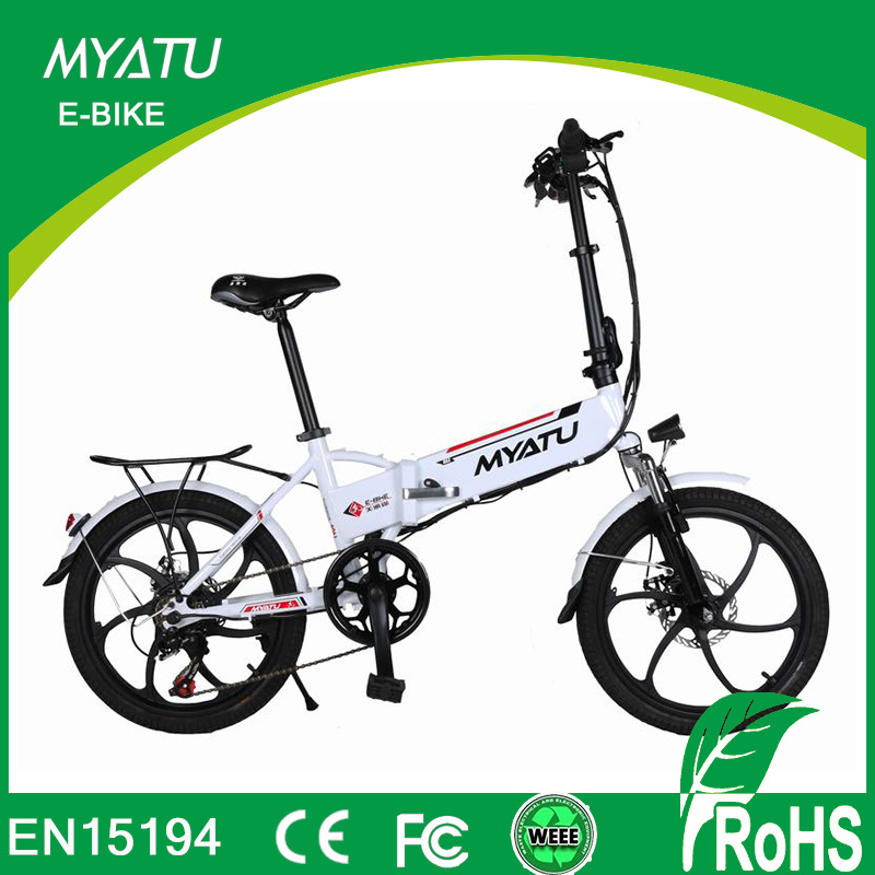 20 Inch Mini Folding Electric Bike/Hidden Battery E Bike pictures & photos