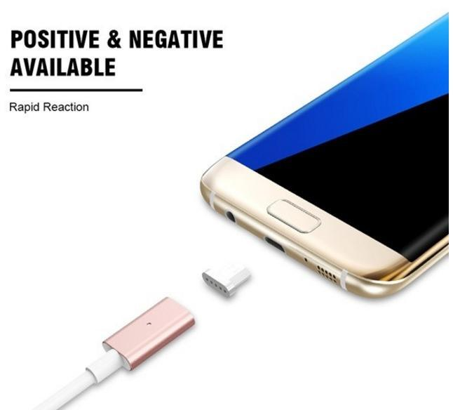 Magnetic USB Charger Cable 1m Data Line with a Magnetic Plug Snap Cable Set for iPhone 6 Plus /6s 7 Plus for Android