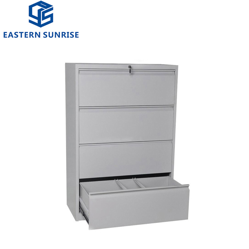 Four Drawer Large Metal Steel Iron