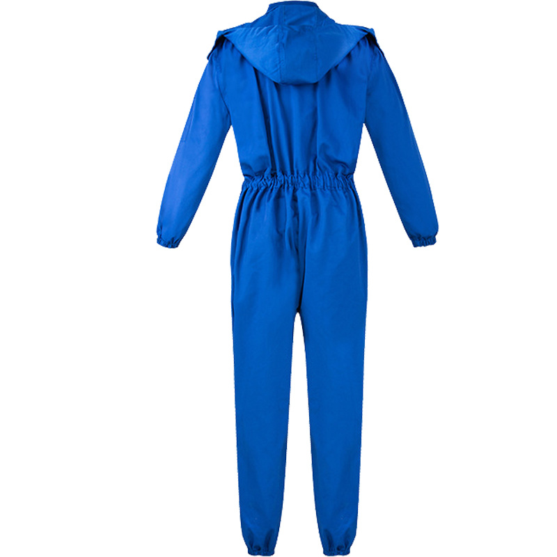 Men Winter 100% Cotton White Coveralls