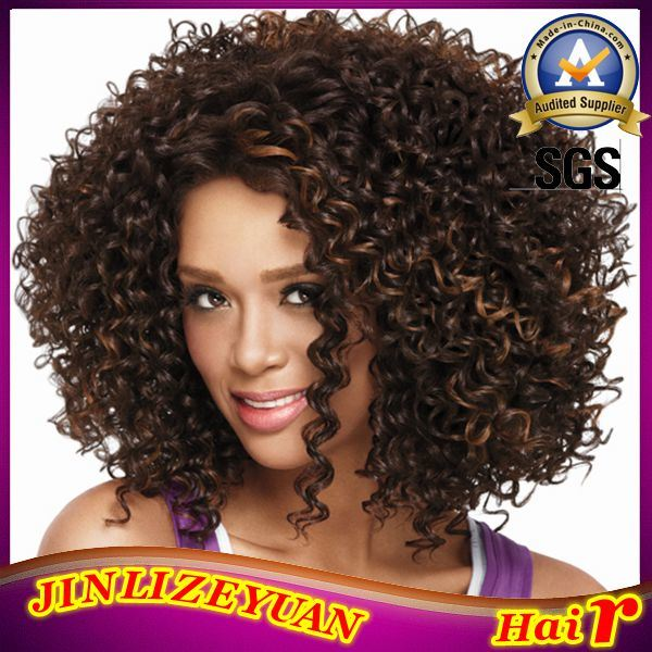 China Kinky Curly Virgin Brazilian Hair Clip In Hair Extensions