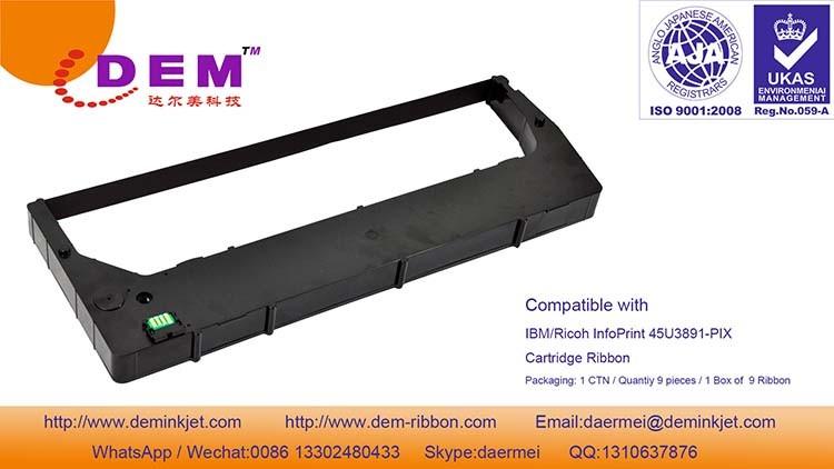 [Hot Item] Compatible with IBM/Ricoh Infoprint 6500V 45u3891-Ptx /  45u3890-Ptx / 45u3895-Ptx Cartridge Ribbon