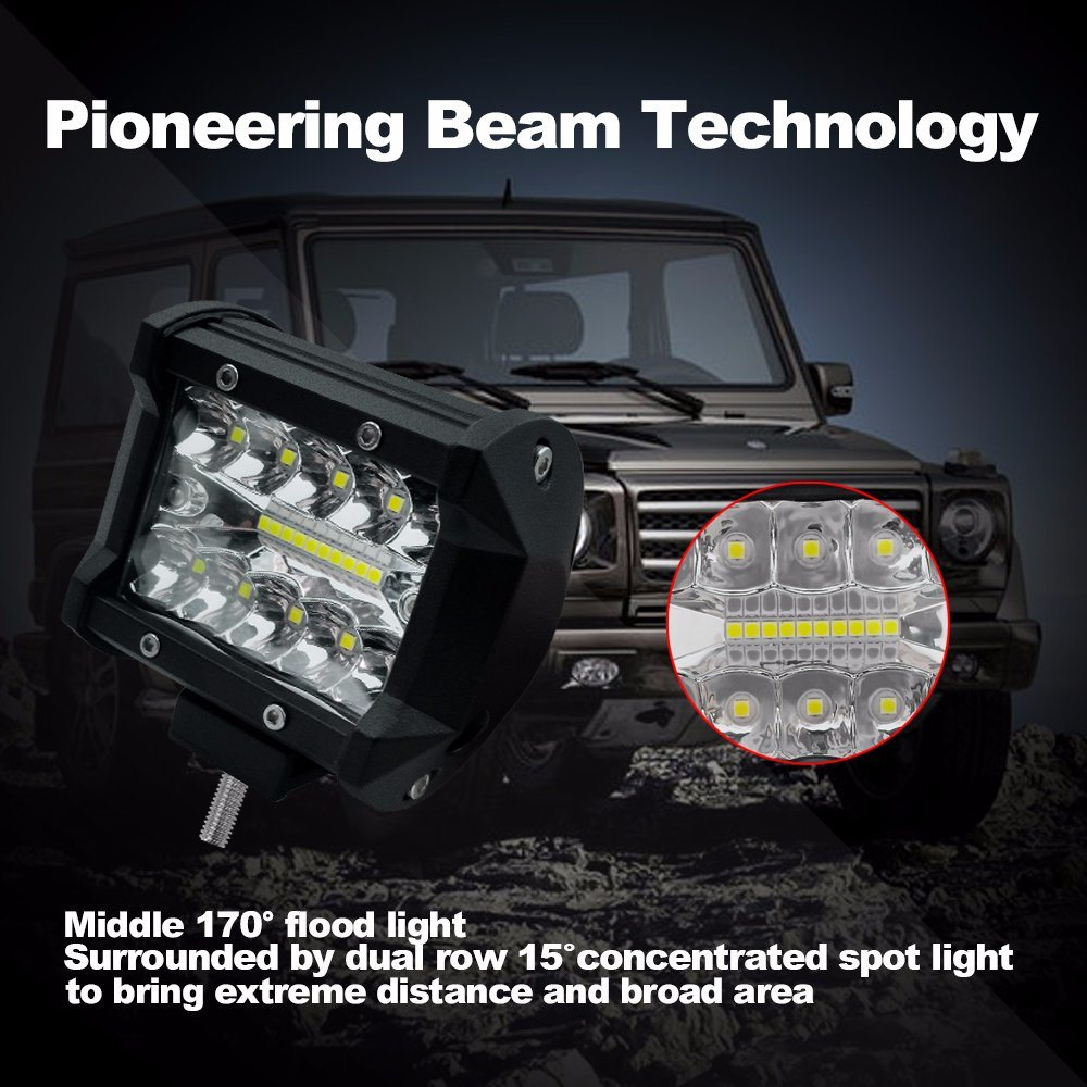 Hot Item Motorcycle Lights Bars Off Road Driving Led Trucks Atvs Auto Parts