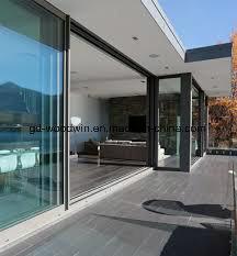 China Aluminum Exterior Bifold Door