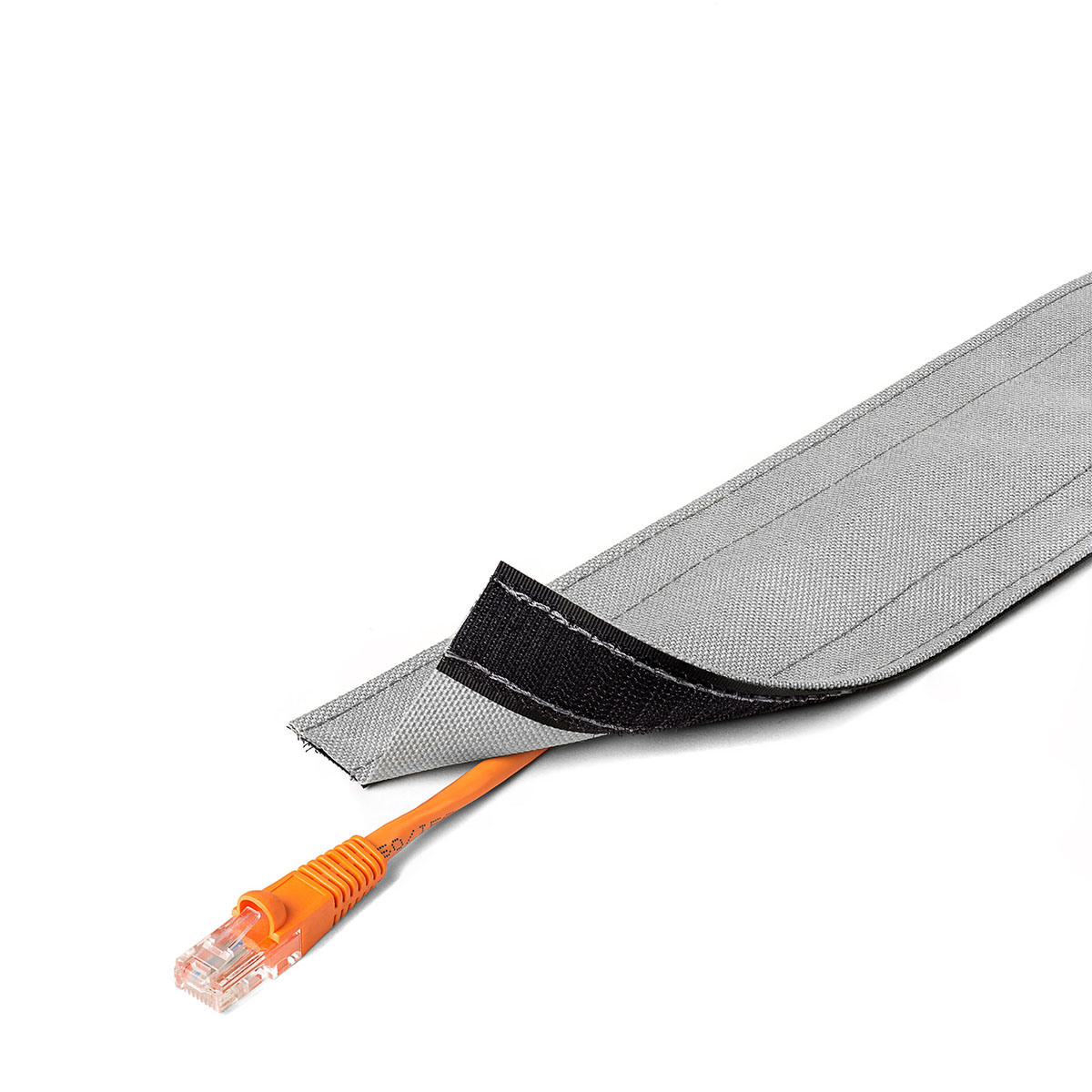China Eko 140mm Floor Cable Wrap Sleeve Wire Cord Hider Cover