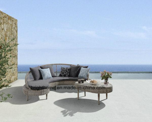 Hot Item Pe Rattan Weaving Outdoor Sofa Set Resin Wicker Furniture