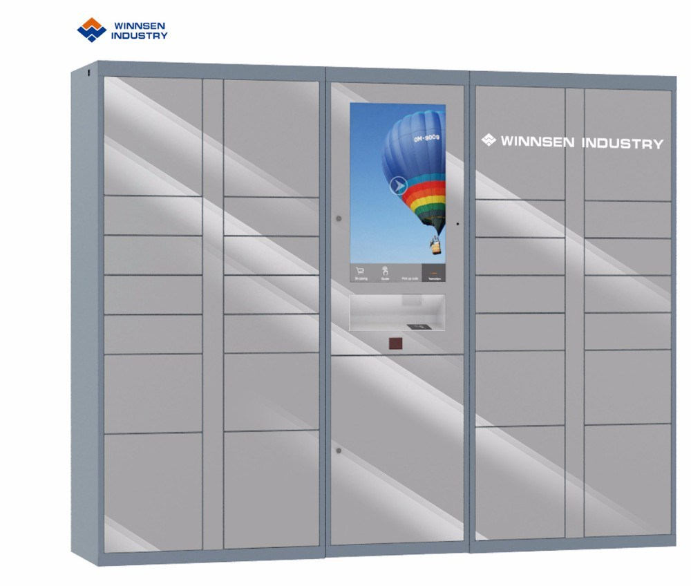 [Hot Item] Intelligent Parcel Delivery Locker Barcode Password Locker