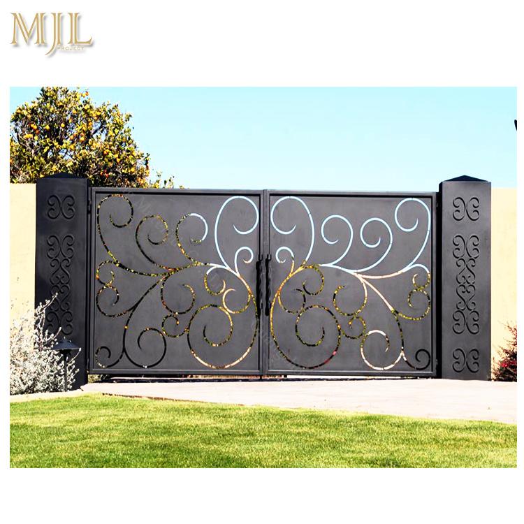 China Cast Iron Gate Design Fancy