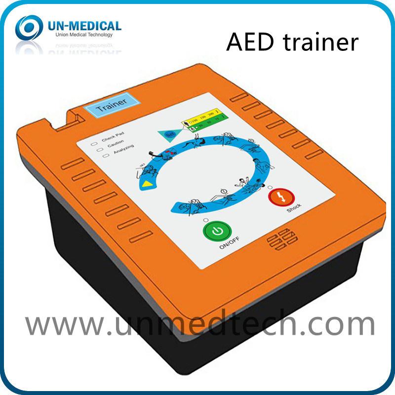 [Hot Item] Portuguese Voice Portable Medical First Aid Training Aed  Defibrillator Trainer