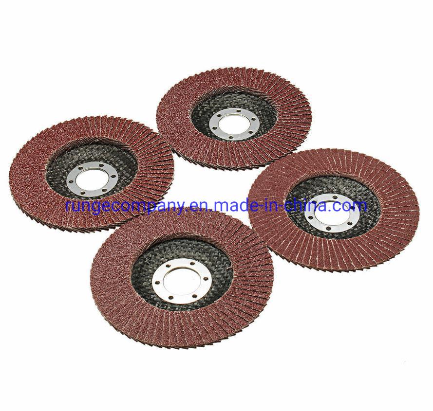 "4-1//2/"" x 7//8/"" Sanding // Grinding Wheel Flap Disc Aluminum Oxide T29"