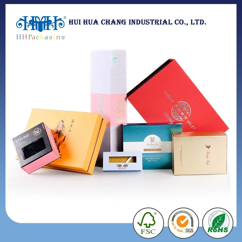[Hot Item] Custom Glossy Spot UV Coating Printing Cosmetic Packaging Paper Box