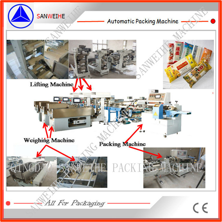 Bulk Noodle Automatic Weighing & Packaging Machine pictures & photos