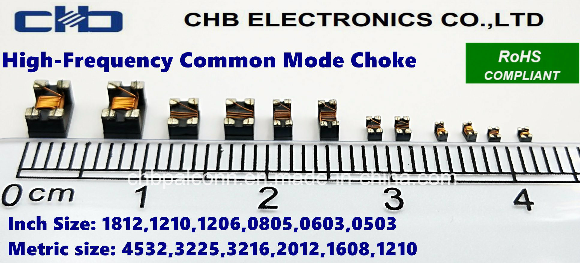 Chokes 2012 90Ohms 2-Line 2012 Common Mode Filters