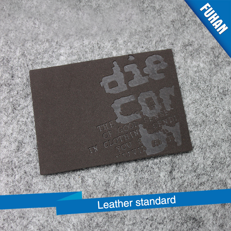 Wholesale Leather Label for Jeans pictures & photos