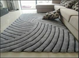 Long Pile Polyester Morden Shaggy Rug Home Decoration Sofa Carpet