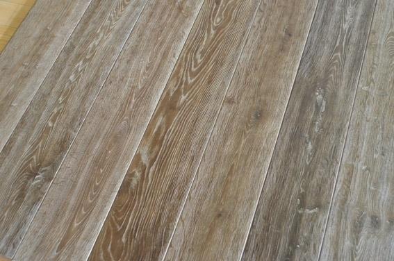 China Smoked Oak Hardwood Parquet Engineered Wood Flooring China
