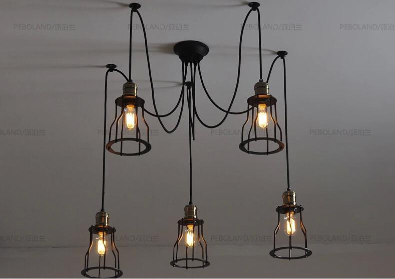 china wholesale rh warehouse style pendant lamp with edison bulb
