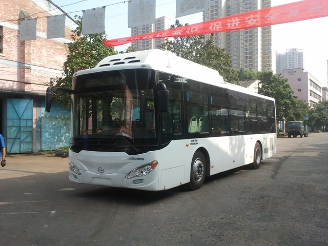 Huazhong Wh6101gng CNG Gas City Bus