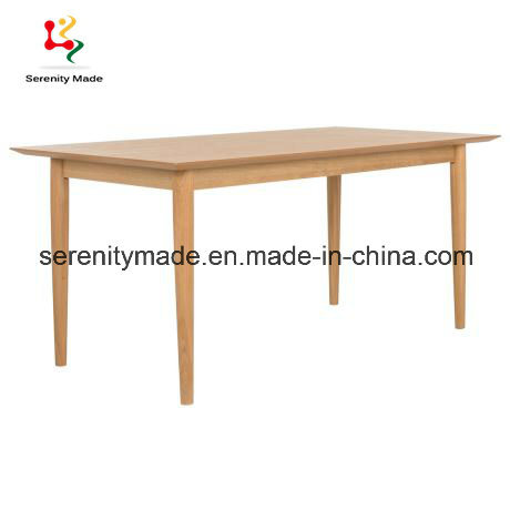 Nordic Style China Manufacturer Square Cafe Table Living Room Pine Side