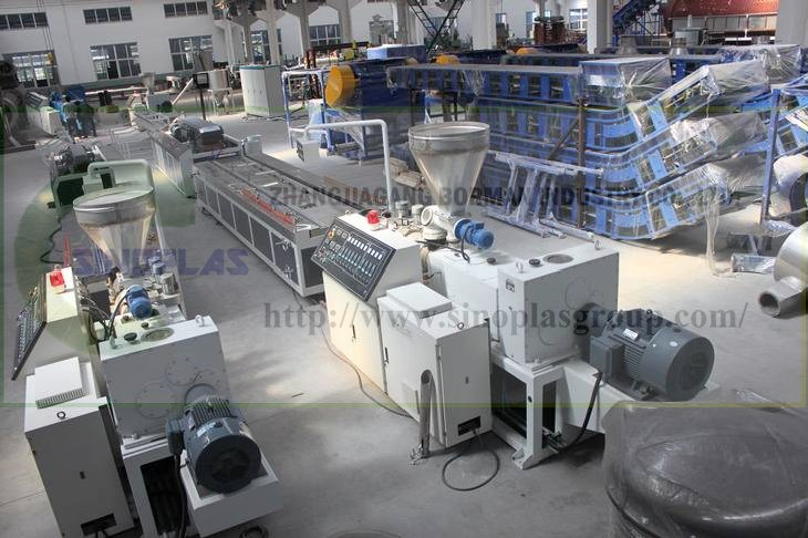 PVC Profile Line/ Plastic Profile Line/ WPC Profile Line/ Profile Extrusion Line/ Plastic Profile Making Machine pictures & photos