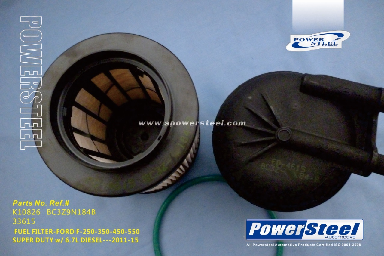 China K10826 Bc3z9n184b 33615 Powersteel Filter Ford F 250 Super 2011 Chrysler 200 Fuel Duty 2015ford 350 450 2016 Autp