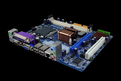 All in One Motherboard Combo with Dual Core CPU (G41GAL)