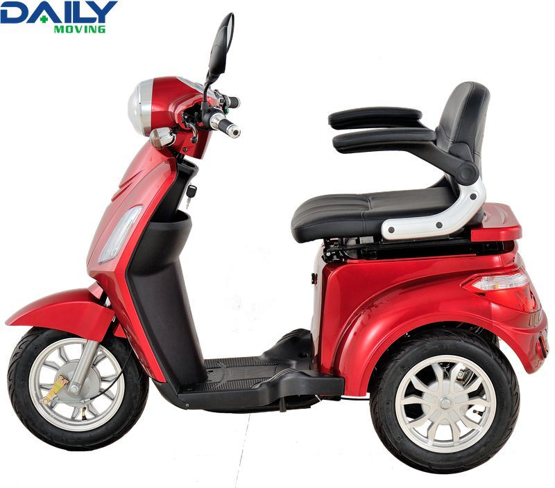 Three Wheels High Speed Electric Mobility Scooter with 16 Inch Tire and 1000W Strong Motor Dm301