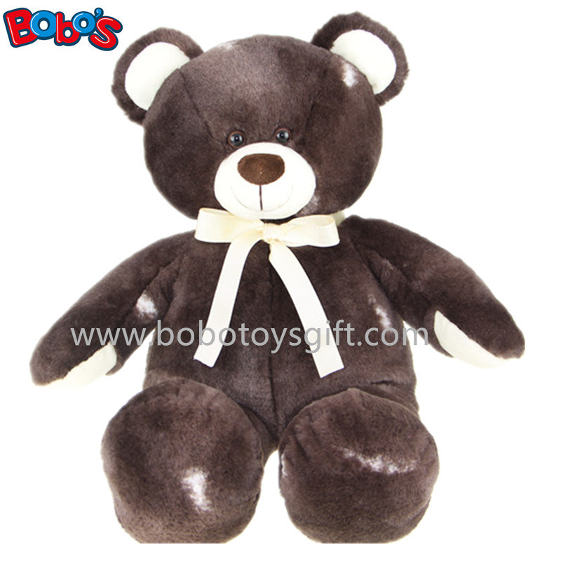 Eco-Friendly Plush Grey Teddy Bear as Kids Toy pictures & photos