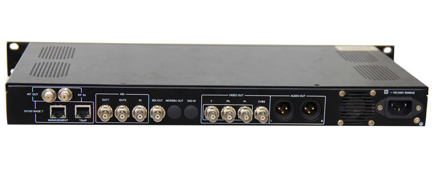 Integrated Satellite Receiver Decoder with DVB-S/S2 Input Port