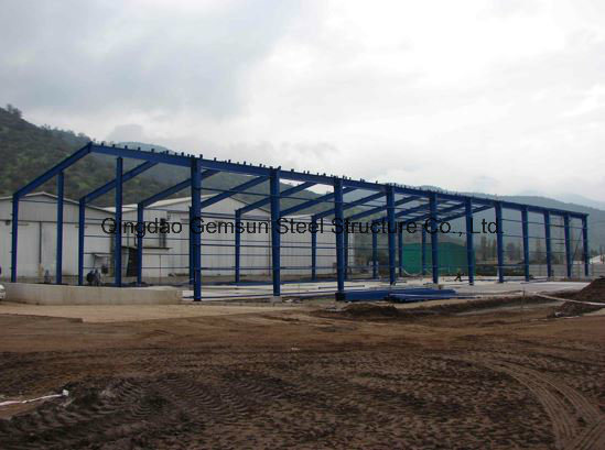 Professional Manufacturer of Steel Structure Warehouse SL-0083