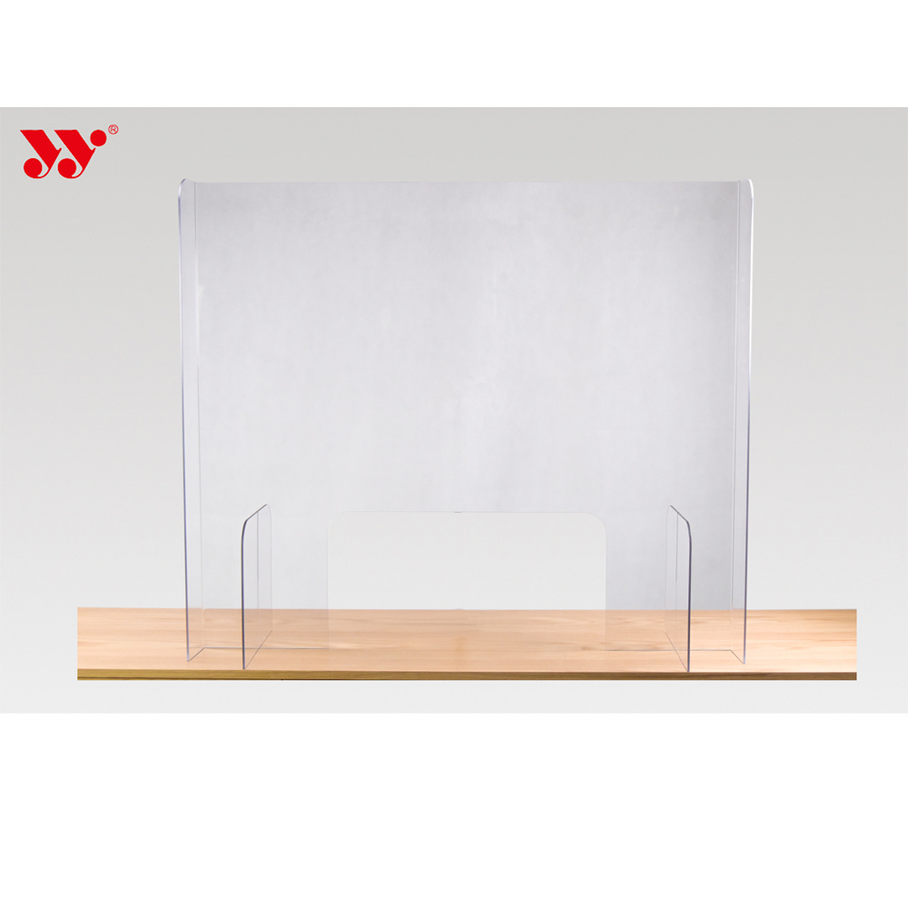 Custom Perspex Desk Cover Sneeze Guard Protective Screen Display Stand pictures & photos