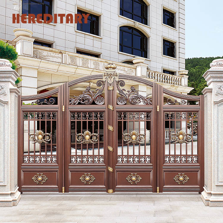 China Best Price Iron Simple Main Gate Color Design for ...