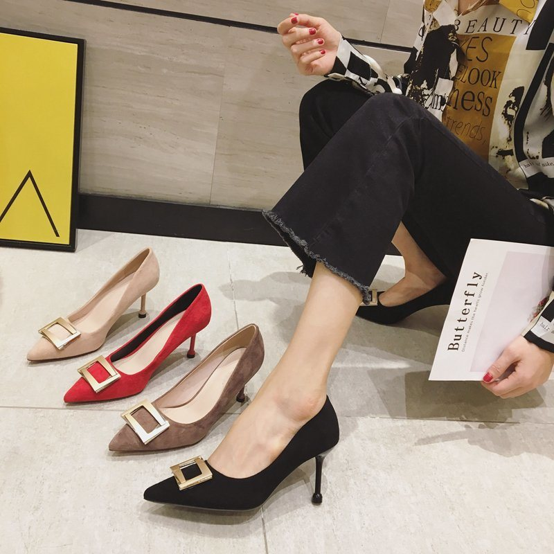 China Ladies Shoe Female High Heels Wholesale Custom Women Shoes High Heel For Party Or Wedding China Women Shoe And Shoes Price