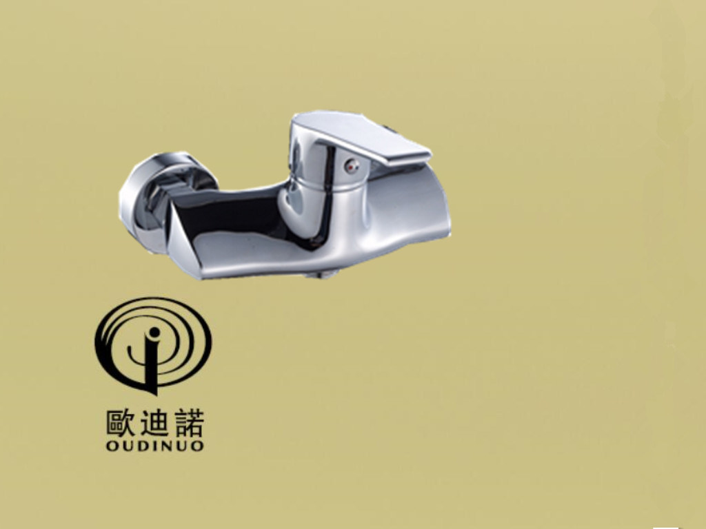 Oudinuo Single Handle Brass Bathtub Mixer & Faucet 68113-1