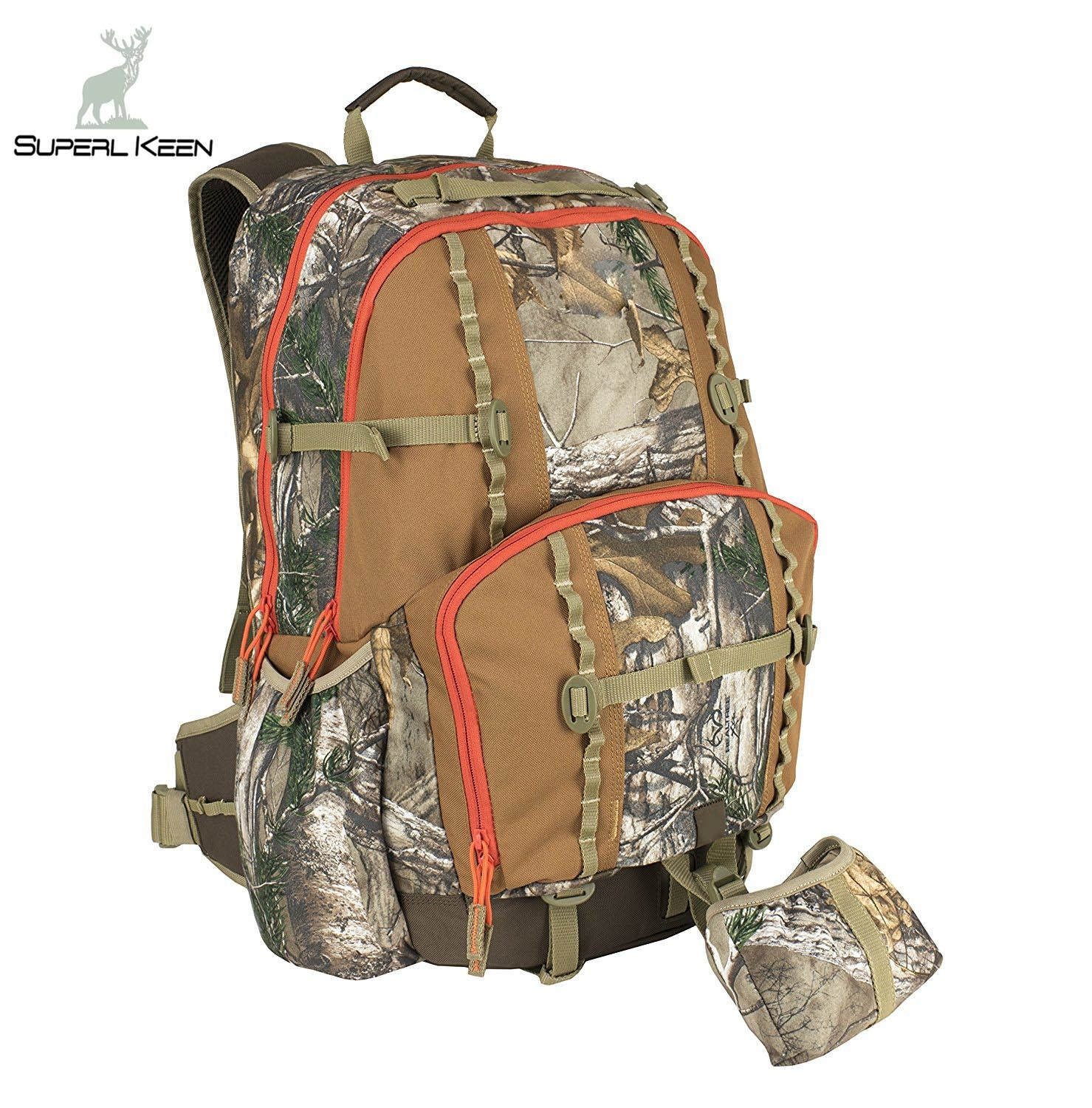 Hunting Outdoor Realtree Camo Backpack Bag