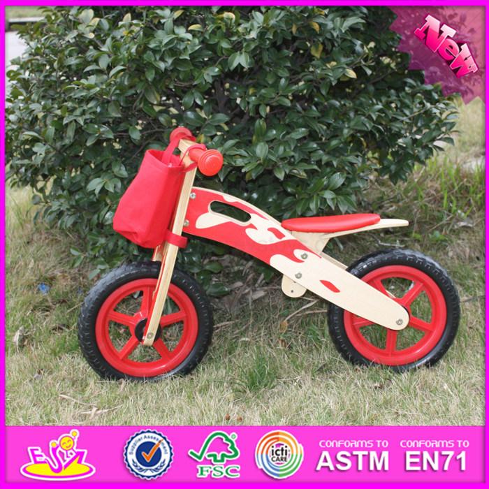 Hot Item 2017 Wholesale Wooden Balance Bikes For Toddlers High Quality Wooden Balance Bikes For Toddlers W16c141